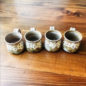 Handmade Espresso Mugs (set of 4)